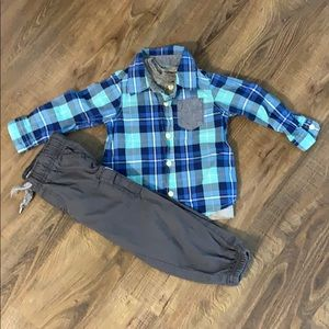 OshKosh B'Gosh 3 Piece Outfit